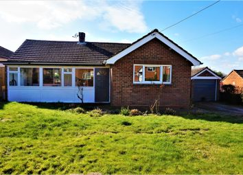 Thumbnail 2 bed detached bungalow for sale in Crawts Road, Overton