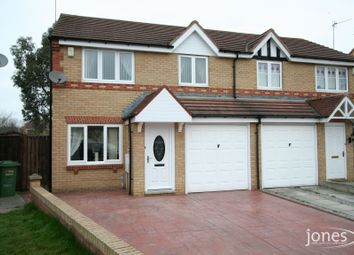 Thumbnail 3 bed semi-detached house to rent in Harewood Crescent, Stockton On Tees