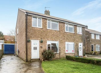 Thumbnail 3 bed semi-detached house for sale in Ings Close, Staxton, Scarborough, North Yorkshire