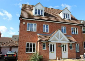 Thumbnail 3 bed semi-detached house for sale in Spilsby Meadows, Spilsby, Lincolnshire