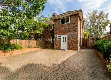 Thumbnail 3 bed semi-detached house for sale in The Oaklands, Swaffham