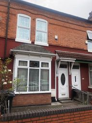 Thumbnail 4 bed terraced house to rent in Cannon Hill Road, Birmingham