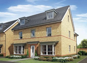 "Thumbnail 5 bed detached house for sale in ""Marlowe"" at Howes Drive, Marston Moretaine, Bedford"