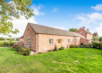 Thumbnail 3 bed barn conversion for sale in Poplar Farm Road, Bromley Hurst, Abbots Bromley