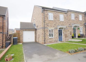 Thumbnail 3 bed semi-detached house for sale in Redmire Drive, Consett