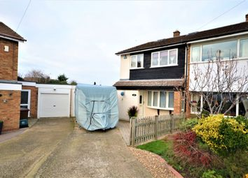 Thumbnail 4 bed semi-detached house for sale in Ryeland Way, Duston, Northampton