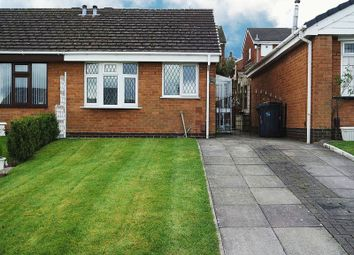 Thumbnail 1 bedroom semi-detached bungalow for sale in Ramshaw Grove, Adderley Green, Stoke-On-Trent