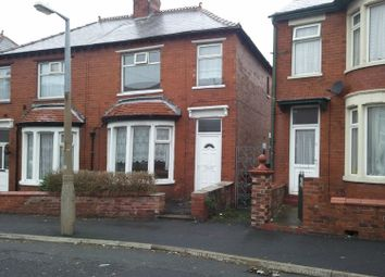 Thumbnail 3 bedroom semi-detached house to rent in Rose Avenue, Blackpool
