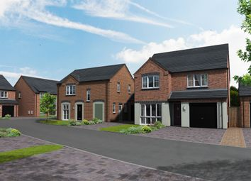 Thumbnail 4 bedroom detached house for sale in Warton Lane, Austrey, Atherstone