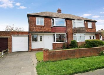 Thumbnail 3 bed semi-detached house for sale in Marina Drive, Whitley Bay