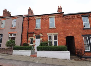 Thumbnail 2 bed terraced house to rent in Cheviot Road, Stanwix, Carlisle
