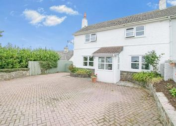 Thumbnail 4 bed semi-detached house for sale in Treworga, Ruan High Lanes, Truro