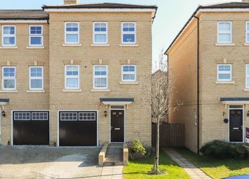 Thumbnail 4 bed town house for sale in Foxglove Close, Chertsey