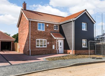 Thumbnail 4 bedroom detached house for sale in Shotesham Road, Poringland, Norwich