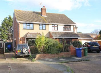 Thumbnail 3 bed semi-detached house for sale in Stephens Crescent, Horndon-On-The-Hill, Stanford-Le-Hope