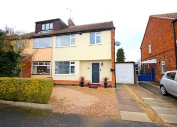 Thumbnail 3 bed semi-detached house for sale in Wardens Walk, Leicester Forest East, Leicester