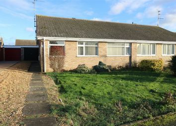 Thumbnail 3 bed semi-detached bungalow for sale in Glastonbury Close, Eye, Peterborough, Cambridgeshire
