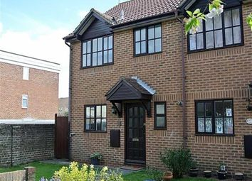 Thumbnail 3 bed end terrace house for sale in Little Pembrokes, Downview Road, Worthing, West Sussex