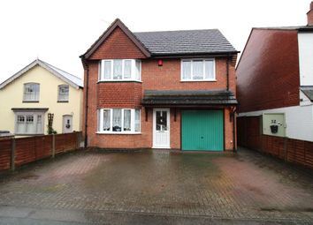 Thumbnail 4 bed detached house for sale in Auburn Road, Blaby, Leicester
