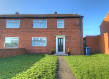 Thumbnail 3 bedroom semi-detached house for sale in Brockley Avenue, South Shields