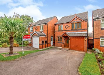 Thumbnail 3 bed detached house for sale in Bluebell Crescent, Wednesfield, Wolverhampton