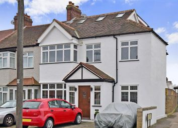 Thumbnail 5 bed end terrace house for sale in Buxton Crescent, Cheam, Surrey