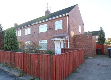Thumbnail 3 bed end terrace house for sale in Hall Lane Estate, Willington, Crook, Durham