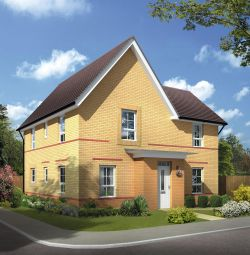 "Thumbnail 4 bed detached house for sale in ""Lincoln"" at Monkton Lane, Hebburn"