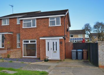 Thumbnail 3 bed semi-detached house for sale in Ennerdale Close, Felixstowe
