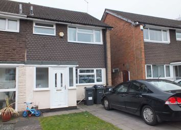 Thumbnail 3 bed semi-detached house to rent in Marie Drive, Birmingham
