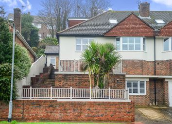Thumbnail 4 bed semi-detached house for sale in Barn Rise, Brighton