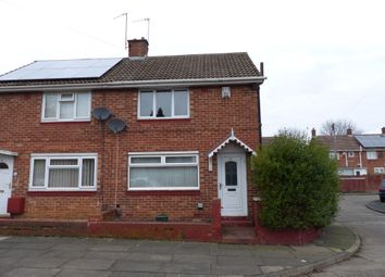 Thumbnail 2 bed semi-detached house to rent in Glanmore Road, Sunderland