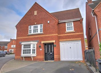 Thumbnail 4 bed detached house for sale in Queen Victoria Drive, Swadlincote