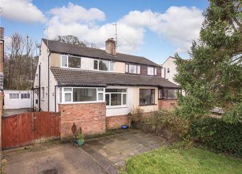 Thumbnail 2 bed semi-detached house for sale in Hallowes Park Road, Cullingworth, West Yorkshire
