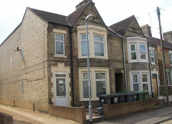 Thumbnail 1 bedroom flat to rent in Huntly Grove, Peterborough