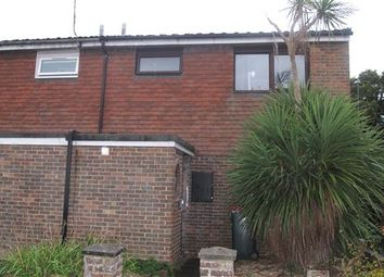 Thumbnail 3 bed end terrace house to rent in Tussock Close, Crawley