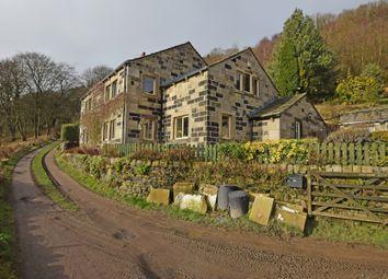 Thumbnail 4 bedroom farmhouse for sale in Charlestown, Hebden Bridge