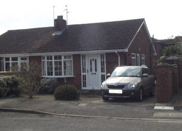 Thumbnail 2 bed bungalow to rent in St Mary's Close, Wigginton, York