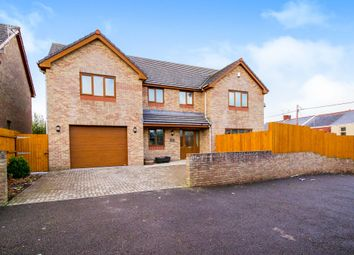 Thumbnail 4 bed detached house for sale in Heol Y Sheet, Stormy Down, North Cornelly, Bridgend