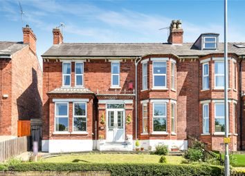 Thumbnail 4 bedroom semi-detached house for sale in Yarborough Road, Lincoln