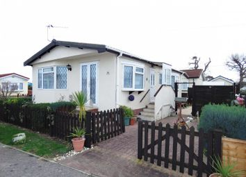 Thumbnail 2 bed mobile/park home for sale in St Hermans Estate, St Hermans Road, Hayling Island