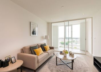 Thumbnail 1 bed flat to rent in Vauxhall, Sky Gardens, Nine Elms