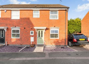 Thumbnail 3 bed semi-detached house for sale in Percival Way, Groby, Leicester