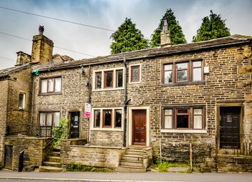 2 bed terraced house for sale in Keighley Road, Illingworth, Halifax HX2