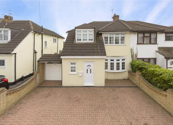 Thumbnail 4 bed semi-detached house for sale in Springbank Avenue, Hornchurch
