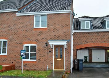 Thumbnail 3 bed semi-detached house to rent in Stockley Crescent, Shirley, Solihull