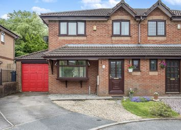 Thumbnail 3 bed semi-detached house for sale in Newburn Close, Skelmersdale