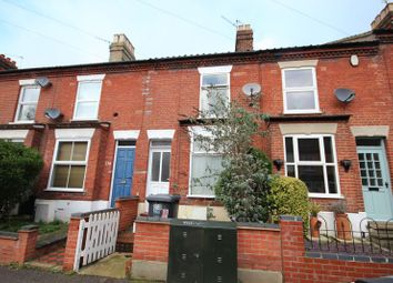 Thumbnail 3 bedroom terraced house to rent in Rosebery Road, Norwich