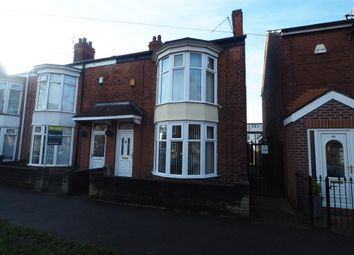 Thumbnail 3 bedroom end terrace house to rent in Telford Street, Hull
