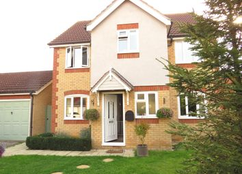 Thumbnail 4 bed detached house for sale in Cypress Close, Doddington, March